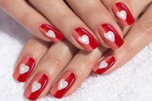 unghie san valentino 2