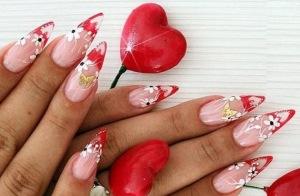 nail art san valentino 2