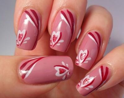 unghie cuori